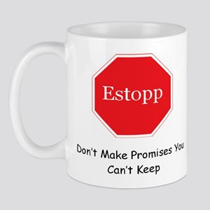 Estopp Mug