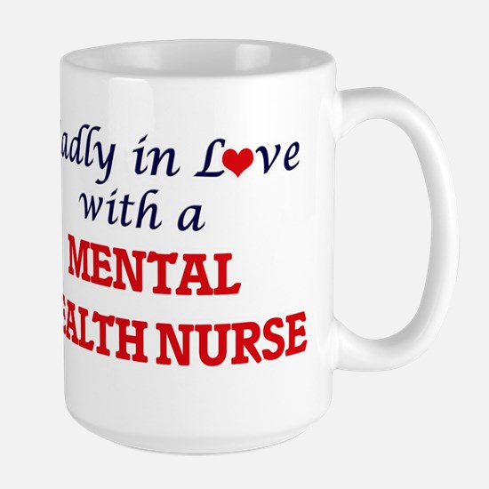Madly in love with a Mental Health Nurse Mugs