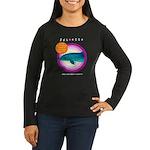 Dolphin Juliette Women's Long Sleeve Dark T-Shirt