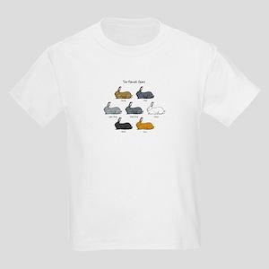 Flemish Giant Rabbit Kids Light T-Shirt
