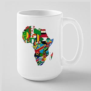 Flags of Africa Large Mug