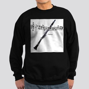 Clarinet Music Sweatshirt