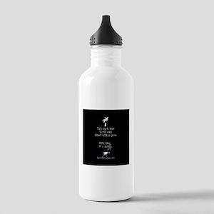 Science math splatter Water Bottle