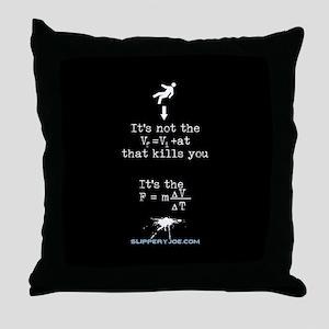 Science math splatter Throw Pillow