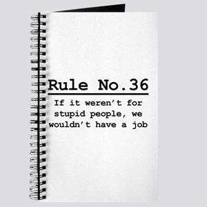 Rule No. 36 Journal