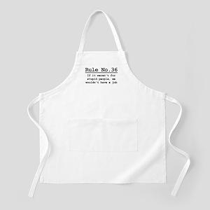 Rule No. 36 BBQ Apron