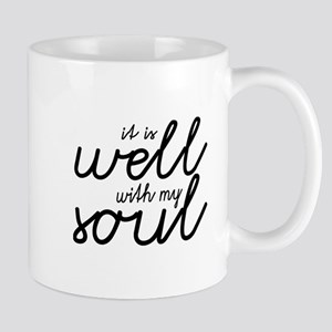 It Is Well With My Soul (Black) Mugs