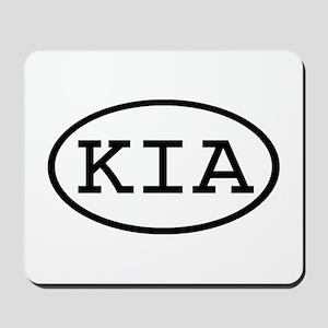 KIA Oval Mousepad