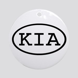 KIA Oval Ornament (Round)