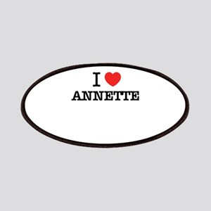 I Love ANNETTE Patch
