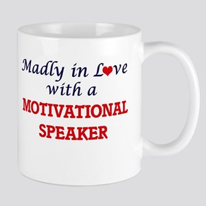 Madly in love with a Motivational Speaker Mugs