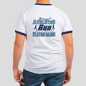 Real Athletes Run Ringer T