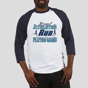 Real Athletes Run Baseball Jersey