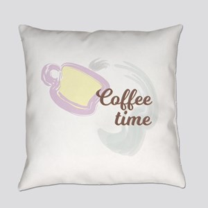 Coffee Time Everyday Pillow