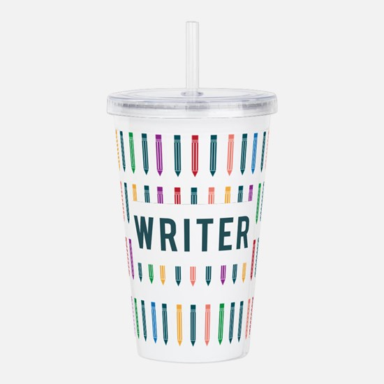 Writer Acrylic Double-wall Tumbler