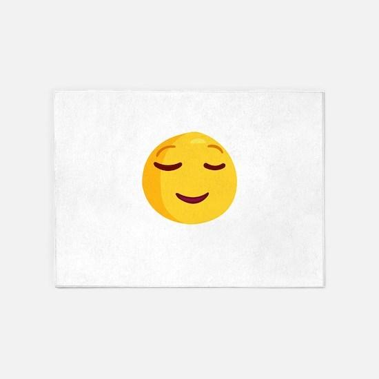 smileys 5'x7'Area Rug