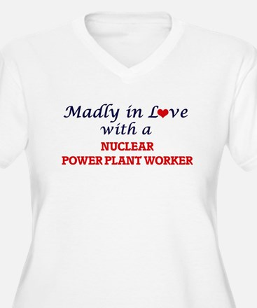 Madly in love with a Nuclear Pow Plus Size T-Shirt