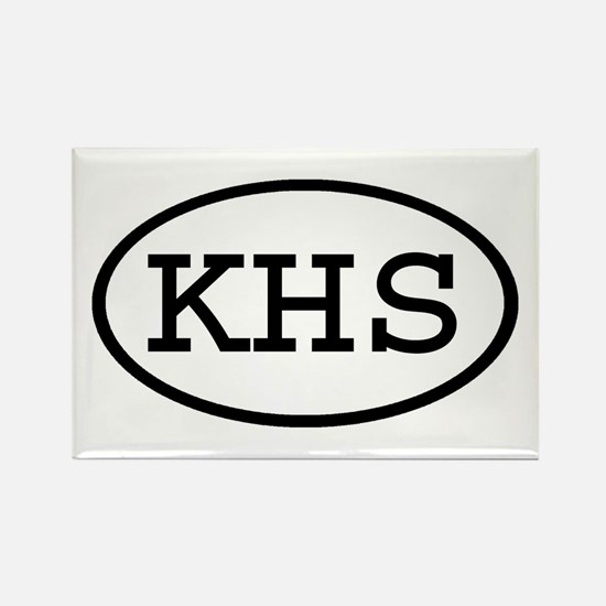 KHS Oval Rectangle Magnet