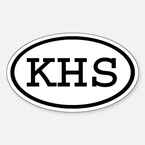 KHS Oval Oval Decal