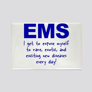 EMS ... diseases Rectangle Magnet