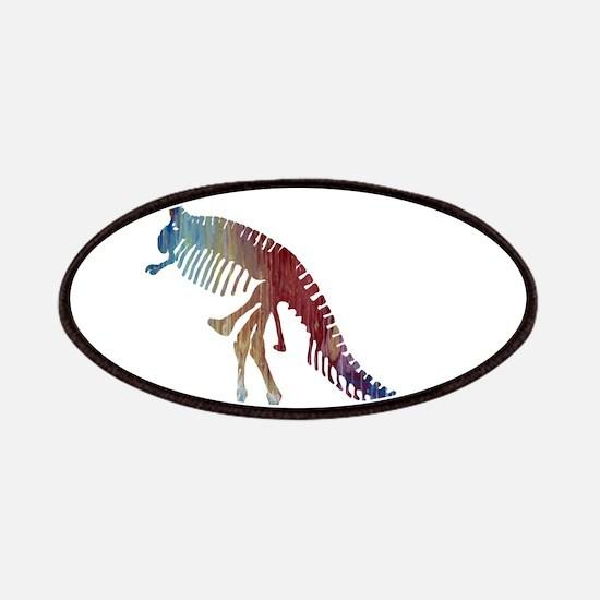 Tyrannosaurus Rex Skeleton Patch