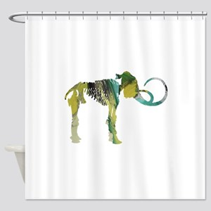 Woolly mammoth Shower Curtain