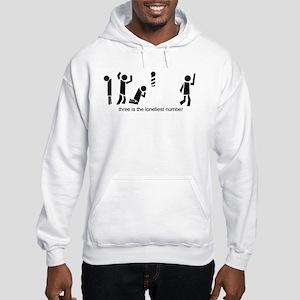 three is the loneliest number Sweatshirt