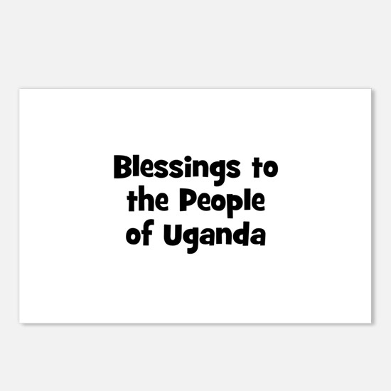 Blessings to the People of Ug Postcards (Package o