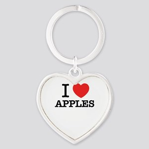 I Love APPLES Keychains