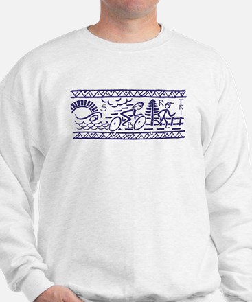 BLUE TRI-BAND Sweatshirt