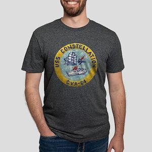 uss constellation cva patch T-Shirt
