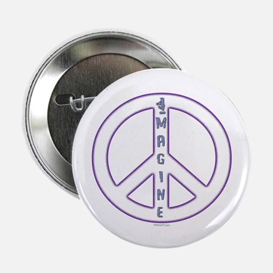 "Imagine Peace 2.25"" Button"