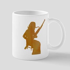 Bassoon Player Mugs