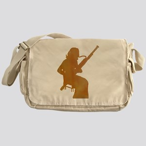 Bassoon Player Messenger Bag