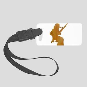 Bassoon Player Small Luggage Tag