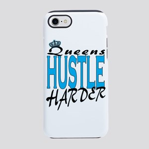 Queens hustle harder iPhone 8/7 Tough Case
