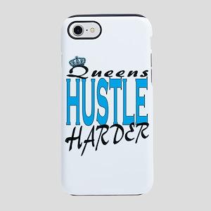 Queens hustle harder iPhone 8/7 Tough Case
