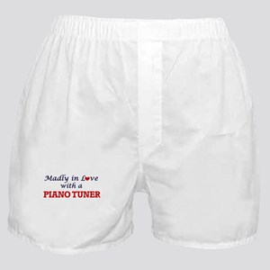 Madly in love with a Piano Tuner Boxer Shorts