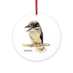Kookaburra Australian Bird Keepsake (Round)