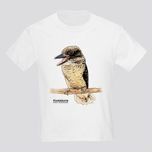 Kookaburra Australian Bird (Front) Kids T-Shirt
