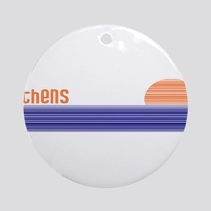 Athens, Greece Ornament (Round)