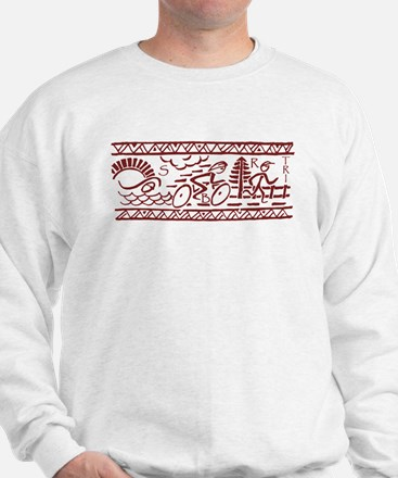 RED TRI-BAND Sweatshirt