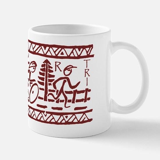 RED TRI-BAND Mug