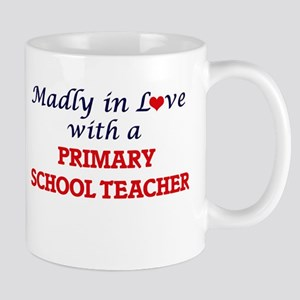 Madly in love with a Primary School Teacher Mugs