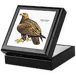 Golden Eagle Bird Keepsake Box