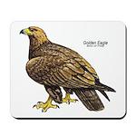 Golden Eagle Bird Mousepad