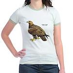 Golden Eagle Bird Jr. Ringer T-Shirt