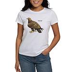 Golden Eagle Bird (Front) Women's T-Shirt