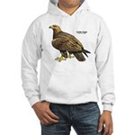 Golden Eagle Bird Hooded Sweatshirt