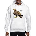 Golden Eagle Bird (Front) Hooded Sweatshirt
